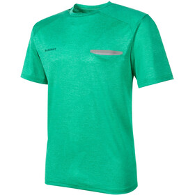 Mammut Crashiano Camiseta Hombre, light emerald melange